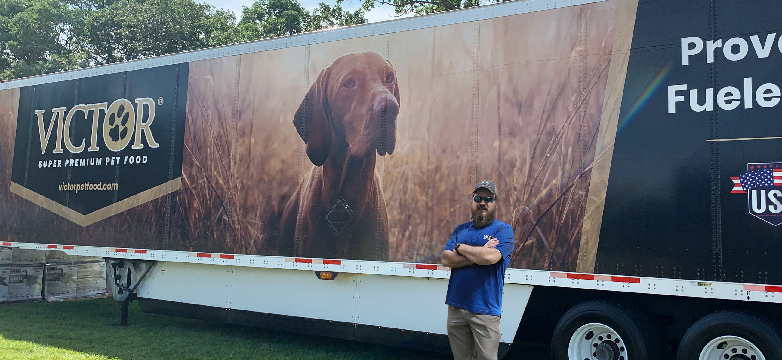 Justin and his team trust VICTOR to keep their dogs at peak performance level all season long.