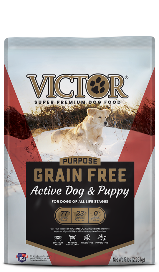 Victor Dog Food Reviews >> Grain Free Active Dog Puppy Victor Pet Food